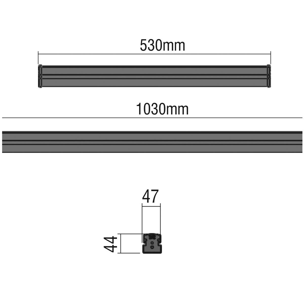 Dimensions / SLIM 3 - LED